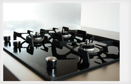 360度ステンレスの塊 最初から傷をつけたような手作りのキッチン 5028イメージ-11