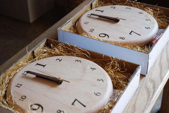 木の時計 オーダーサイズ 80092イメージ-13