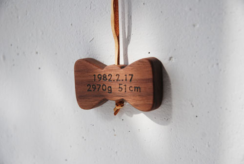 体重ベアのリボン型ネックレス 8020イメージ-1