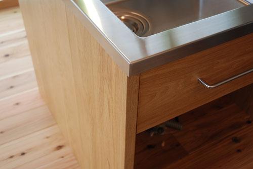 オーダーキッチン 本棚付きナラ材製 5031イメージ-10
