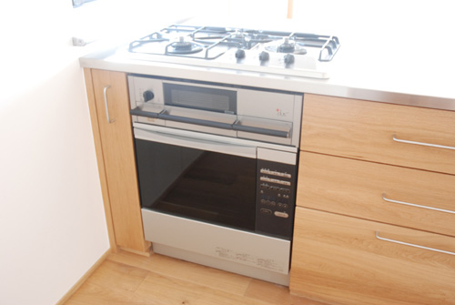 オーダーキッチン ガスオーブン&プラスドゥ&ナラ無垢 5042イメージ-14
