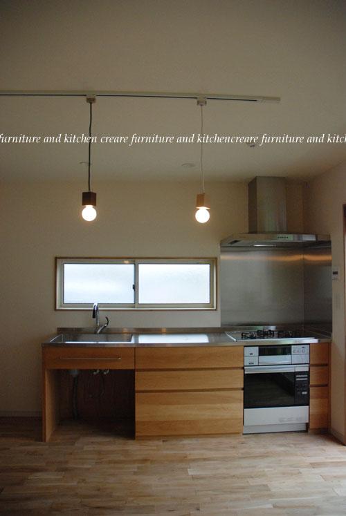 オーダーメイドキッチン オーブンをビルトイン 606イメージ-1