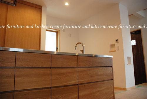 オーダーメードキッチン ガゲナウ食洗機とナラの木とステンレス 630イメージ-1