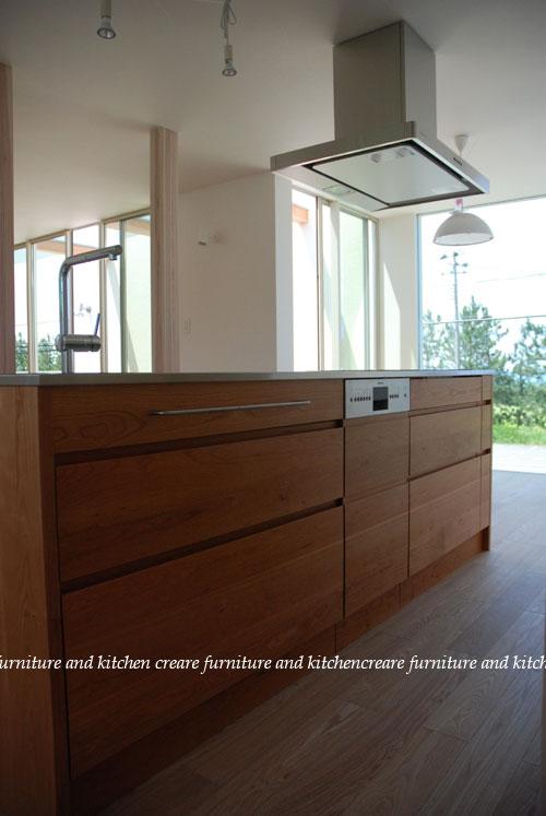 アイランドキッチン ブラックチェリー 668イメージ-3