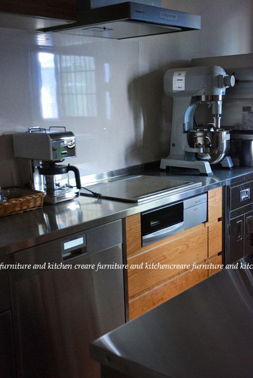 ステンレスキッチン パン教室の厨房 678イメージ-2
