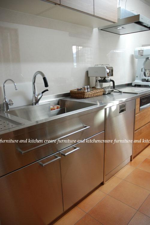 ステンレスキッチン パン教室の厨房 678イメージ-1