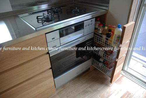 オーダーメイドキッチン オーブンをビルトイン 606イメージ-9