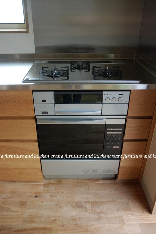 オーダーメイドキッチン オーブンをビルトイン 606イメージ-4