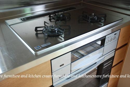 オーダーメイドキッチン オーブンをビルトイン 606イメージ-5