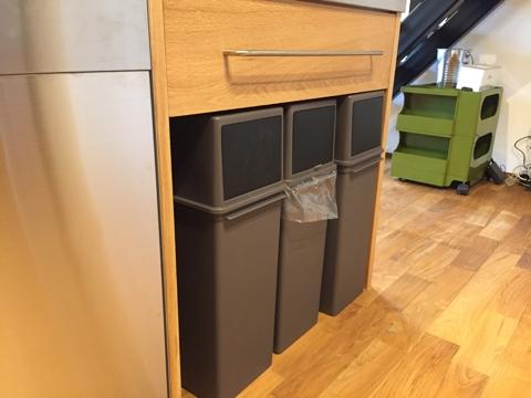オーダーキッチン ガスオーブンとガゲナウ60cm食洗機をビルトイン 734イメージ-14