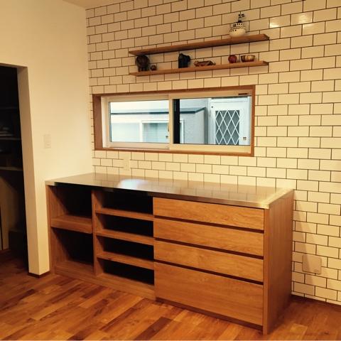 オーダーキッチン ガスオーブンとガゲナウ60cm食洗機をビルトイン 734イメージ-4