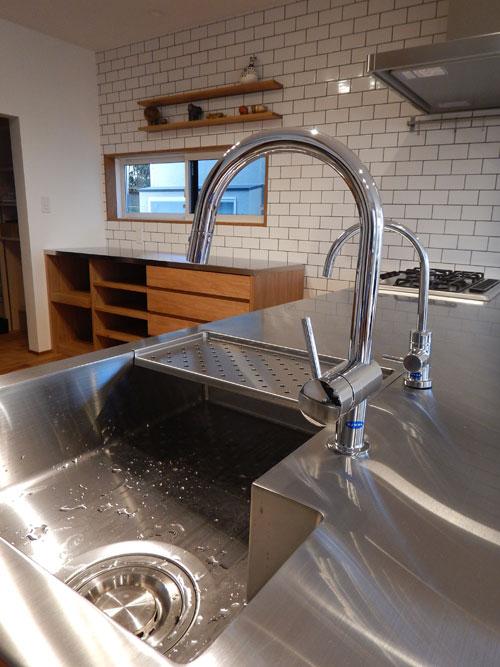 オーダーキッチン ガスオーブンとガゲナウ60cm食洗機をビルトイン 734イメージ-18