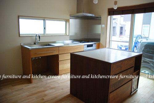 オーダーメイドキッチン オーブンをビルトイン 606イメージ-2