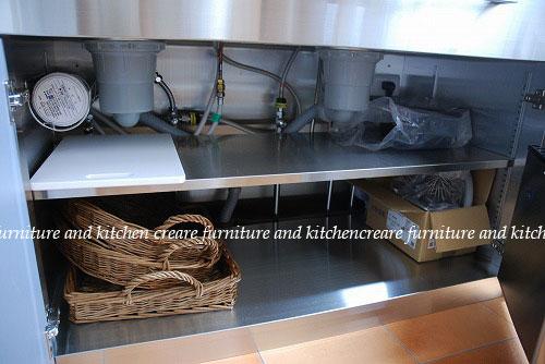 ステンレスキッチン パン教室の厨房 678イメージ-5