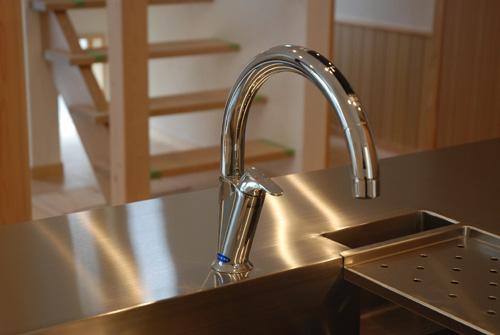 LIXIL タッチレス水栓 浄水器つき