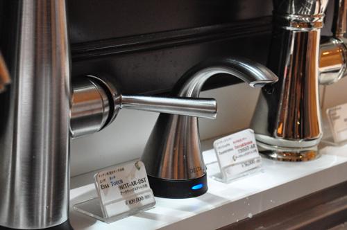 DELTA/デルタ キッチン水栓 ソープディスペンサー 洗剤の出方は5段階で調節可能