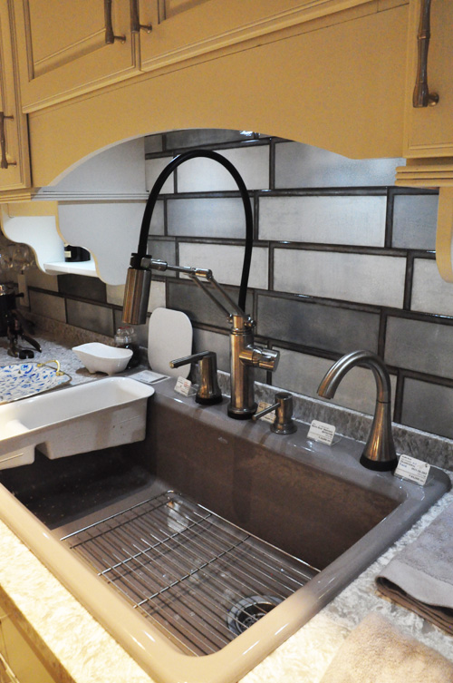 DELTA/デルタ キッチン水栓 浄水器用単水栓とコーディネート