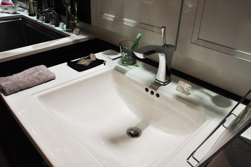 DELTA/デルタ 洗面用水栓とコーラーのシンク