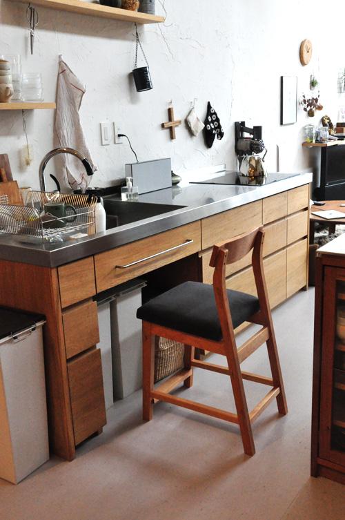 ツリーベ展示キッチン 私のキッチン