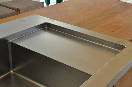 グローエ・グラシア電解水素整水器がついて水切りエリアのあるオーダーシンクのキッチン no.5065イメージ-6
