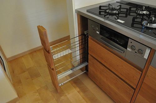 ミーレ25周年モデル食洗機のついたオーダーキッチンとカウンターテーブルを一緒に製作 no.5055イメージ-13