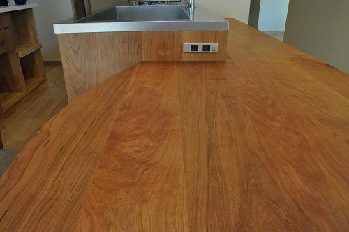 ミーレ25周年モデル食洗機のついたオーダーキッチンとカウンターテーブルを一緒に製作 no.5055イメージ-20