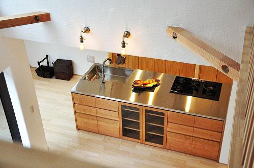 ASKOガスコンロとベルタゾーニのガスオーブンを設置したキッチン no.5056イメージ-1