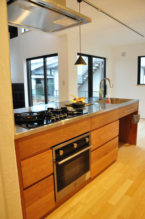 ASKOガスコンロとベルタゾーニのガスオーブンを設置したキッチン no.5056イメージ-7