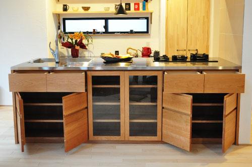 ASKOガスコンロとベルタゾーニのガスオーブンを設置したキッチン no.5056イメージ-5