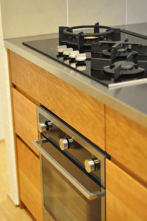 ASKOガスコンロとベルタゾーニのガスオーブンを設置したキッチン no.5056イメージ-14