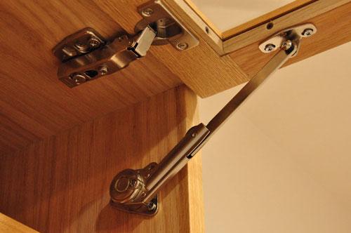 壁から冷蔵庫までの食器棚と吊戸棚 ツールバーを付けて 5057イメージ-5