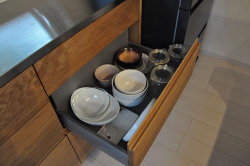 壁から冷蔵庫までの食器棚と吊戸棚 ツールバーを付けて 5057イメージ-13