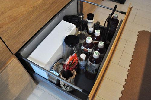 壁から冷蔵庫までの食器棚と吊戸棚 ツールバーを付けて 5057イメージ-15