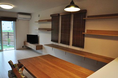 壁から冷蔵庫までの食器棚と吊戸棚 ツールバーを付けて 5057イメージ-17