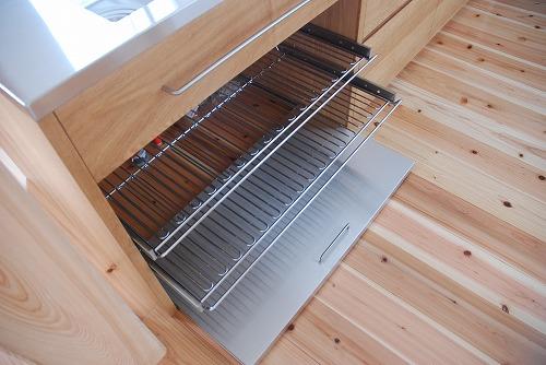 オーダーキッチン 無垢カウンターパネル&木とステンレス 636イメージ-3