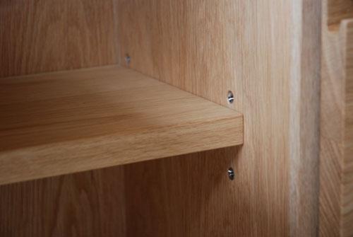 スタンダードで 片側引出し 片側扉のリビングボード 5047イメージ-4