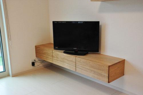 フロートテレビボードと本棚と長机カウンターデスク 5046イメージ-6