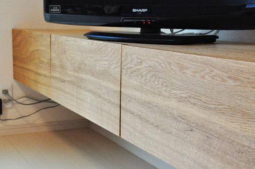 フロートテレビボードと本棚と長机カウンターデスク 5046イメージ-7
