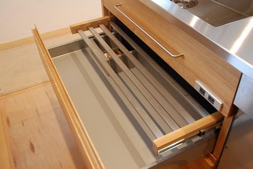 オーダーメードキッチン ガゲナウ食洗機とナラの木とステンレス 630イメージ-5