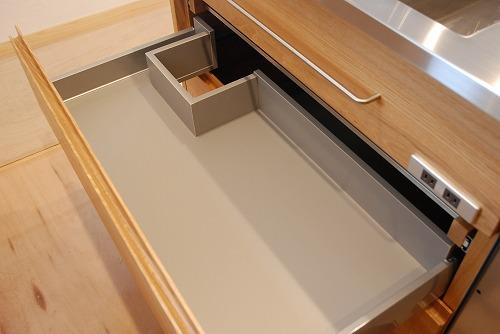 オーダーメードキッチン ガゲナウ食洗機とナラの木とステンレス 630イメージ-6