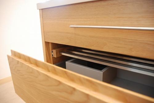 オーダーメードキッチン ガゲナウ食洗機とナラの木とステンレス 630イメージ-7
