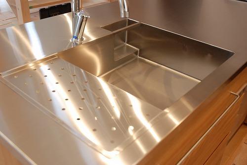 オーダーメードキッチン ガゲナウ食洗機とナラの木とステンレス 630イメージ-11
