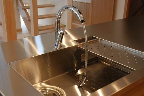 オーダーメードキッチン ガゲナウ食洗機とナラの木とステンレス 630イメージ-10