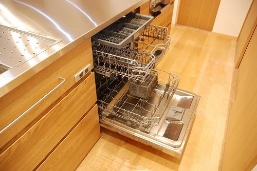 オーダーメードキッチン ガゲナウ食洗機とナラの木とステンレス 630イメージ-15