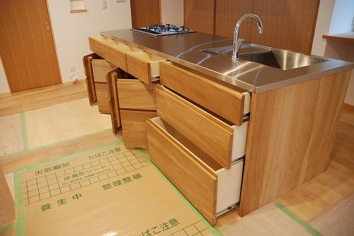 オーダーメードキッチン ガゲナウ食洗機とナラの木とステンレス 630イメージ-20