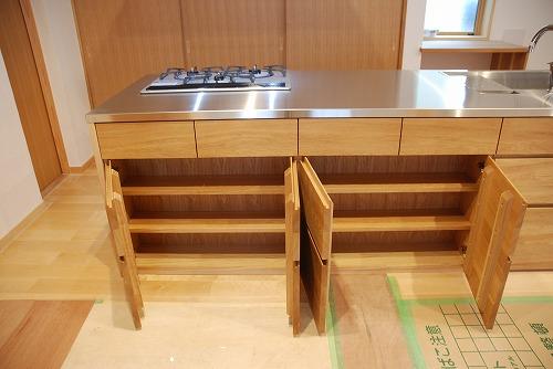 オーダーメードキッチン ガゲナウ食洗機とナラの木とステンレス 630イメージ-21