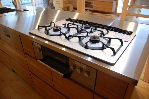 オーダーメードキッチン ガゲナウ食洗機とナラの木とステンレス 630イメージ-18