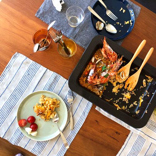 テーブルとベンチをオーダーキッチンと一緒に製作 3029イメージ-4