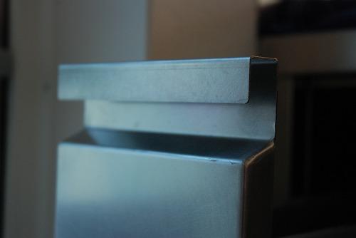 段付きシンクの対面キッチン バイブレーションサンダー仕上のステンレス 654イメージ-15