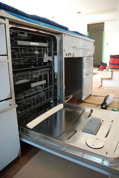 段付きシンクの対面キッチン バイブレーションサンダー仕上のステンレス 654イメージ-10